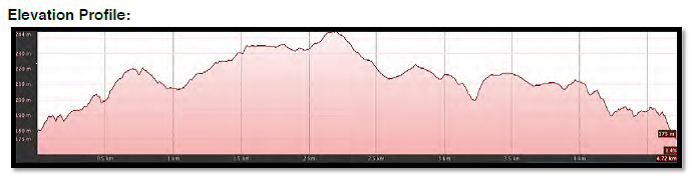 Trail 2 Elevation Profile